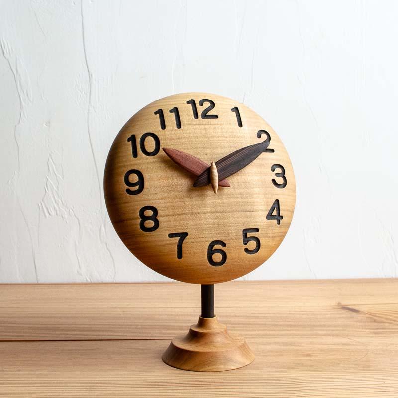 ぷっくりキュートな手作り時計15cm カスタムオーダーメイド