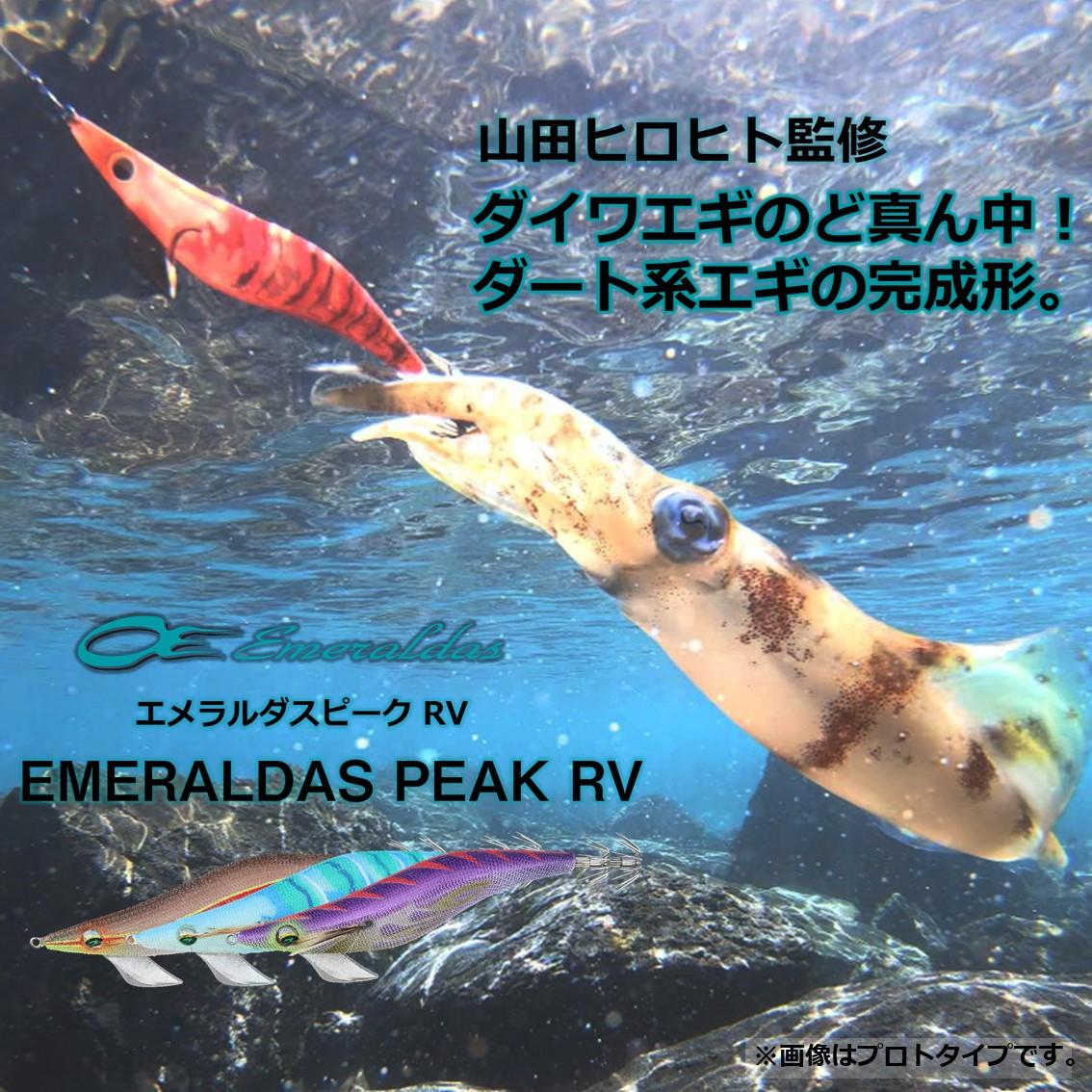 ダイワ エメラルダスピークRV 3.5号【メール便可】