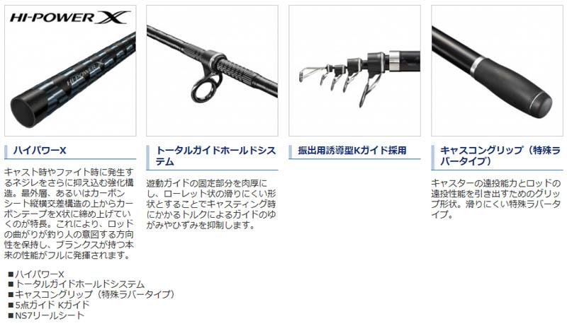 シマノ 20サーフリーダー(振出) 405DX-T