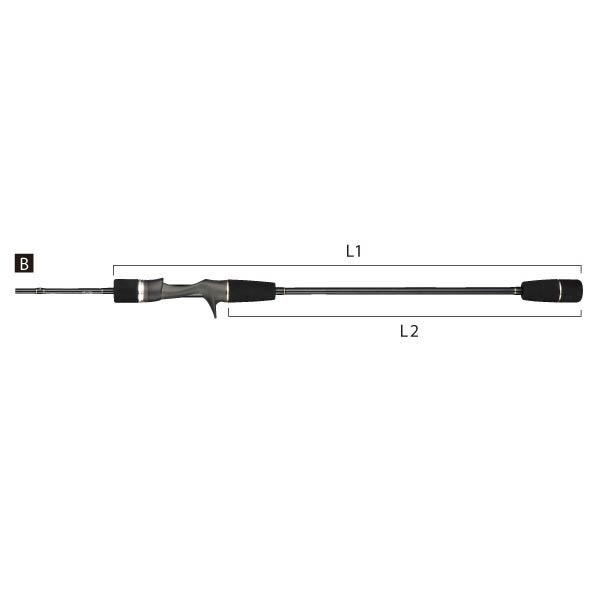 【大型品】テイルウォーク ソルティシェイプダッシュSLJ(スーパーライトジギング) C6300/FSL