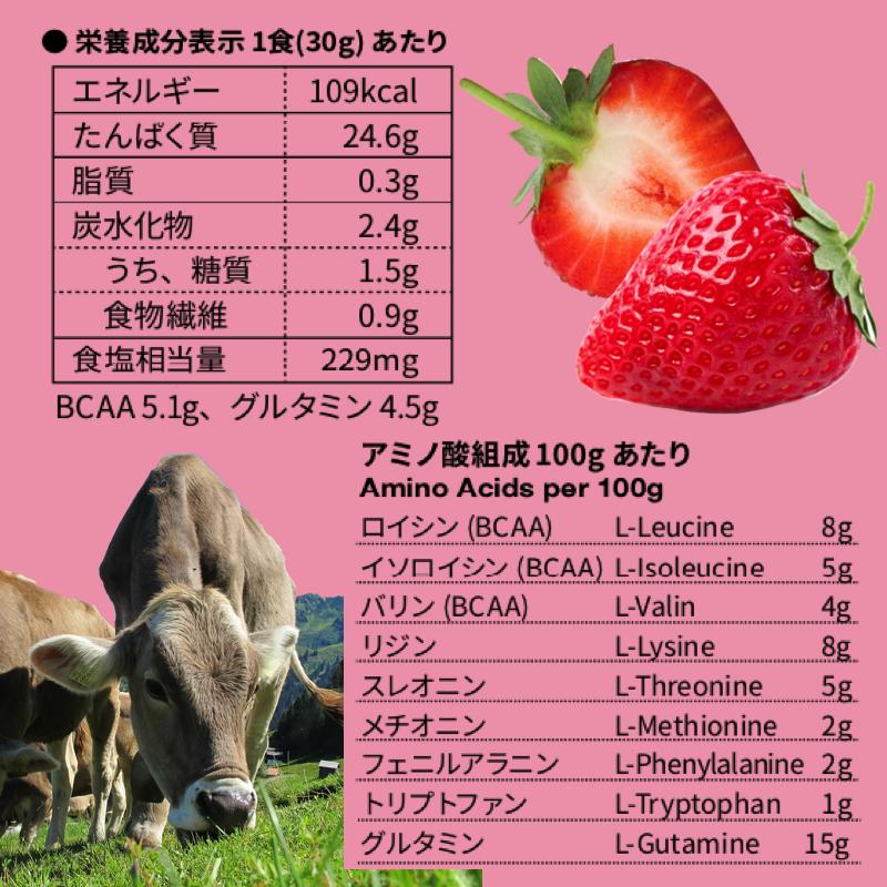 ザイテンバッハ ホエイプロテイン(ストロベリー)Seitenbacher Whey Protein Strawberry