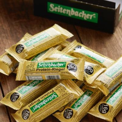 ザイテンバッハ プロテインバー バニラ 12本 Seitenbacher Protein Bar Vanilla