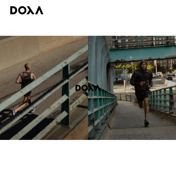 【2021年8月後半出荷予定】DOXA ドクサ ランニング 半袖シャツ TROY TEE MILES DRAU1156  ユニセックス  CYPRESS
