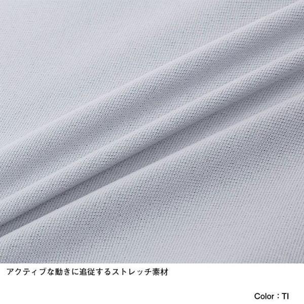 THE NORTH FACE ザ・ノース・フェイス ランニング Tシャツ 半袖 S/S Engineered Spiral Crew NT12072  メンズ ティングレー