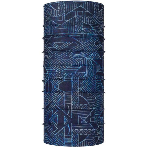 Buff バフ ランニング トレイルランニング 多機能ヘッドウエア キッズ・子供用 CoolNet UV+ KASAI Night Blue 387516