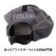 日本製 FEELCAP フィールキャップ 帽子 マラソン トレイルランニングキャップ X-WIND AND SHADE CAP グレー