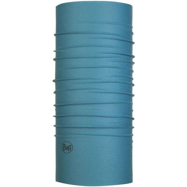 Buff バフ ランニング トレイルランニング 多機能ヘッドウエア INSECT SHIELD SOLID STONE BLUE