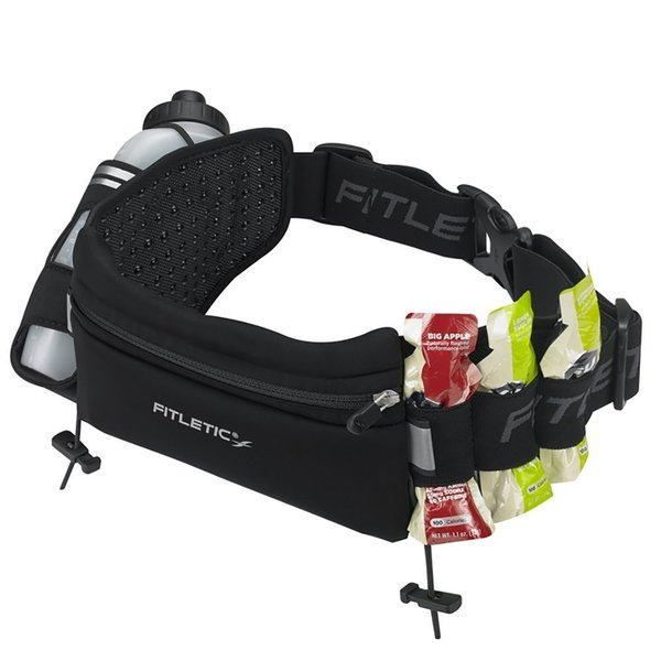 FITLETIC フィットレティック ランニング ウエストバッグ フーリーローディド Fully Loaded HD-12G ブラック