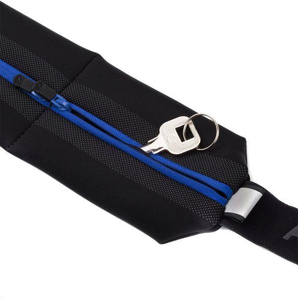 FITLETIC フィットレティック ランニング ウエストバッグ ボルト Bolt MSB-02 ブラック/ブルー