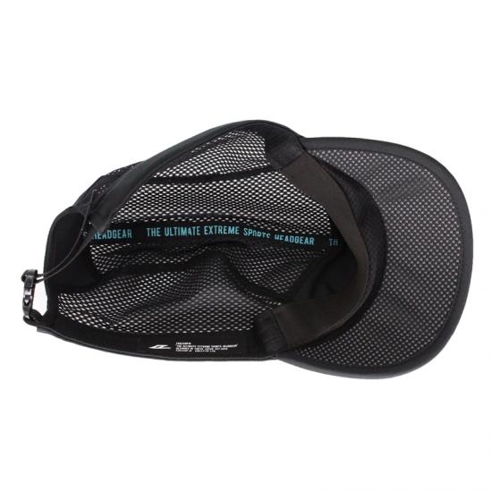 日本製 FEELCAP フィールキャップ 帽子 トレイルランニングキャップ BMIT CAP FC-007 シャドウブラック