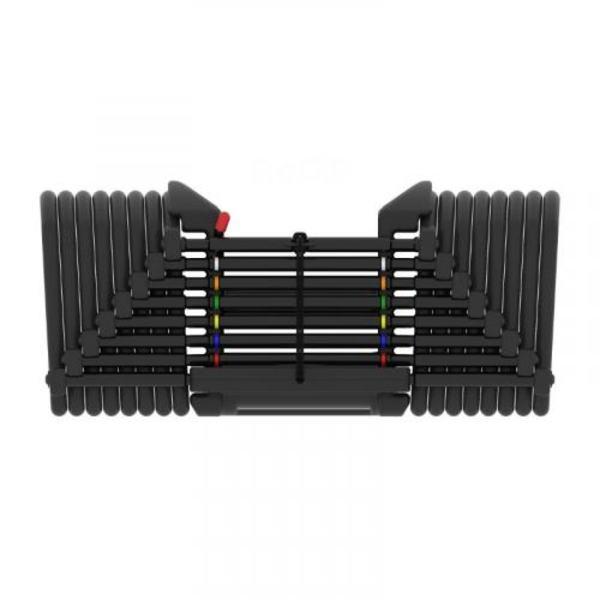 PowerBlock パワーブロック ウレタンコート Pro  EXP 90セット 2個セット 5-90ポンド最大41kg/片方 荷重可変式ダンベル