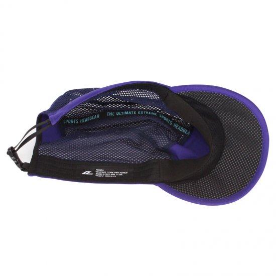 日本製 FEELCAP フィールキャップ 帽子 トレイルランニングキャップ BMIT CAP FC-007 インペリアルパープル