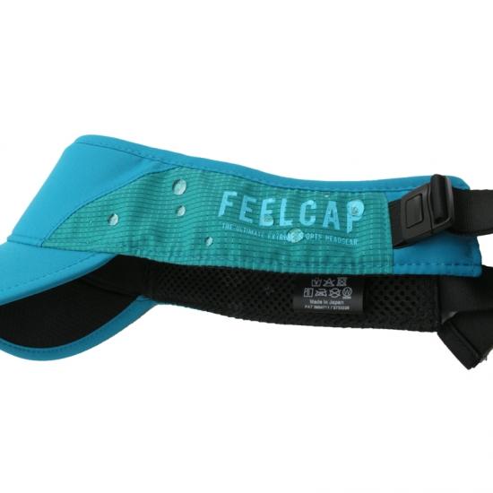 日本製 FEELCAP フィールキャップ サンバイザー トレイルランニング X-HIGH PERFORMANCE VISOR FC-009 X-BLACK
