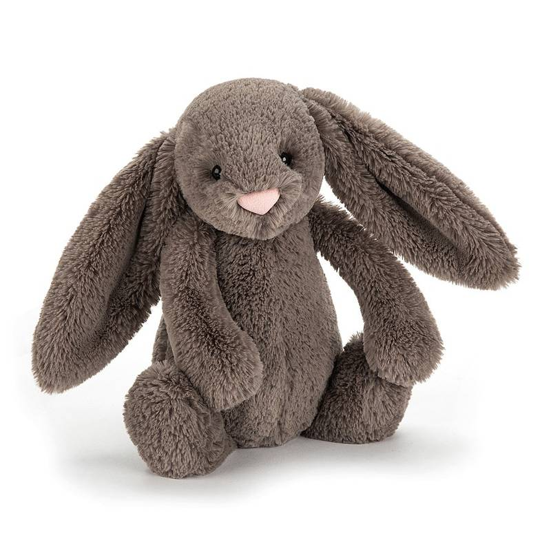 JELLYCAT Bashful Truffle Bunny Medium(BAS3BTR) うさぎ ぬいぐるみ トリュフ
