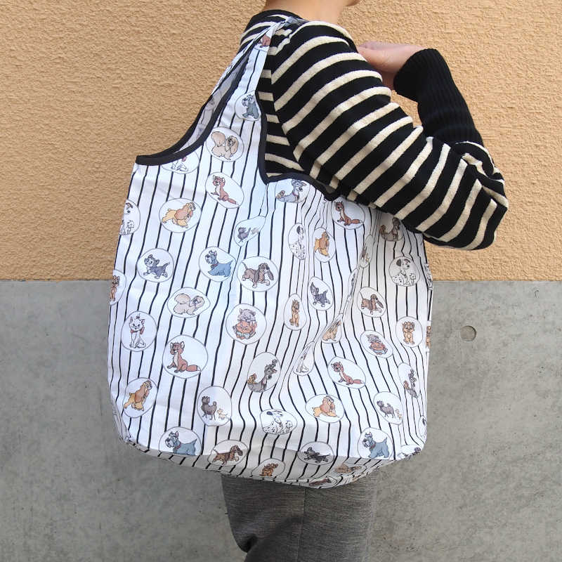 Disney ディズニー くるくるショッピングバッグ 【同商品2個までゆうパケット1通で発送可】