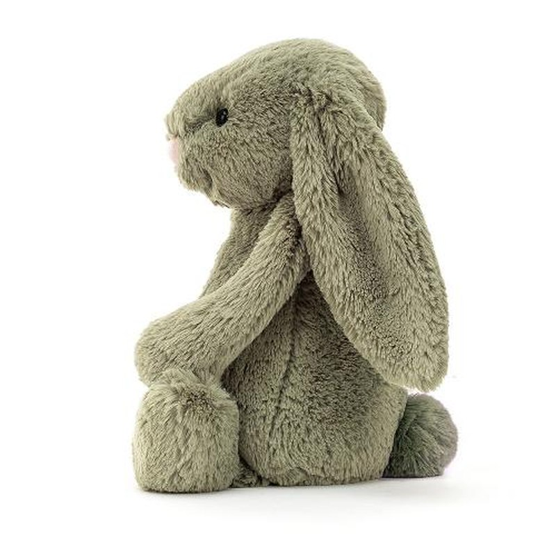 JELLYCAT Bashful Fern Bunny Medium(BAS3FERN) うさぎ ぬいぐるみ ファーン