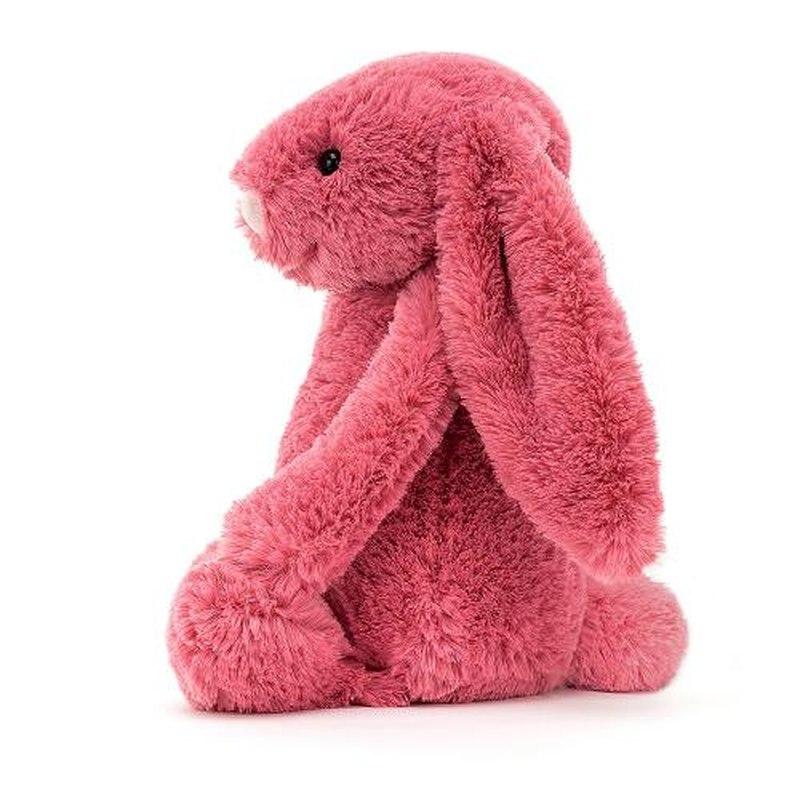 JELLYCAT Bashful Cerise Bunny Medium(BAS3CER) うさぎ ぬいぐるみ スリーズ
