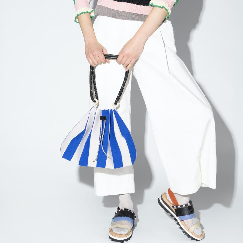 【TRICOTE】 トリコテ PLEATS BAG LARGE