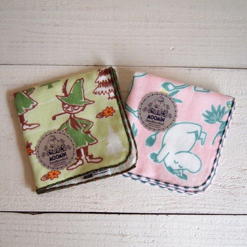 MOOMIN ムーミン handkerchief ハンカチ 【ゆうパケット6枚まで1通で発送可】