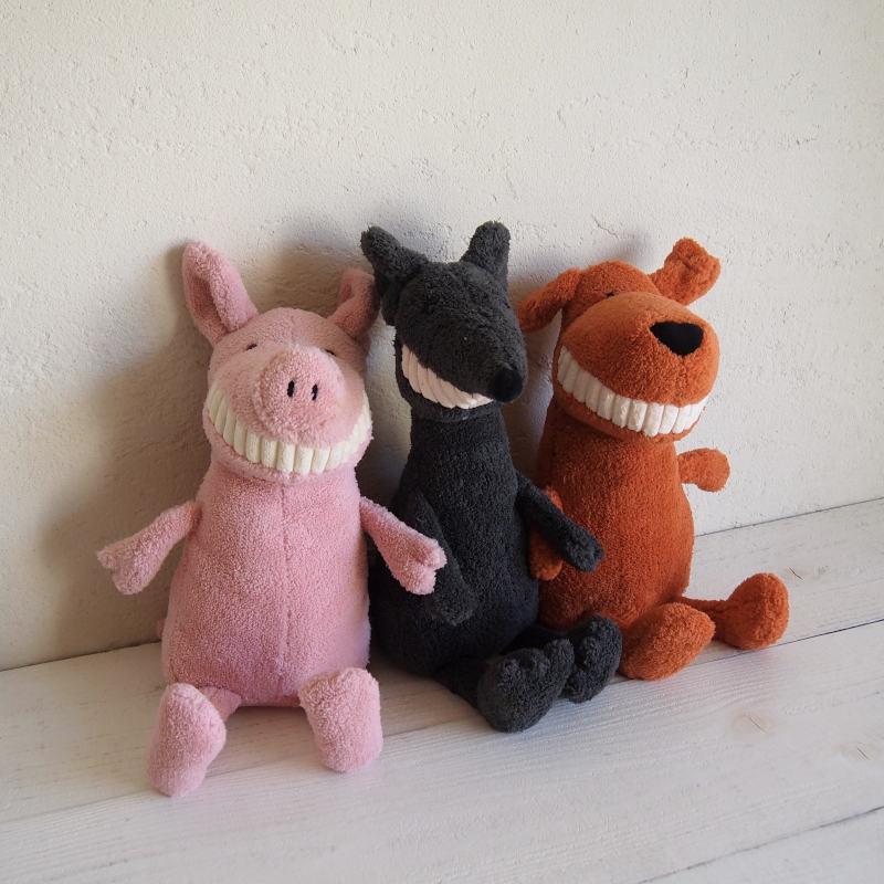 JELLYCAT Toothy Pig (TO3PG) ブタ ぬいぐるみ