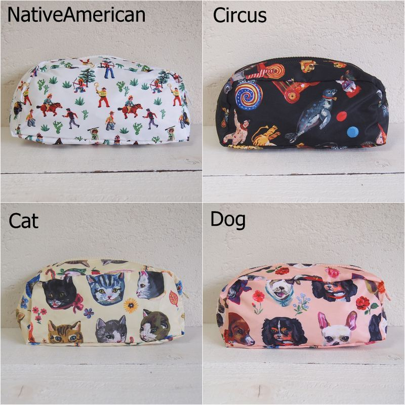 Nathalie Lete Oblong Pouch ナタリー・レテ ポーチ 【同商品4個までゆうパケット1通で発送可】