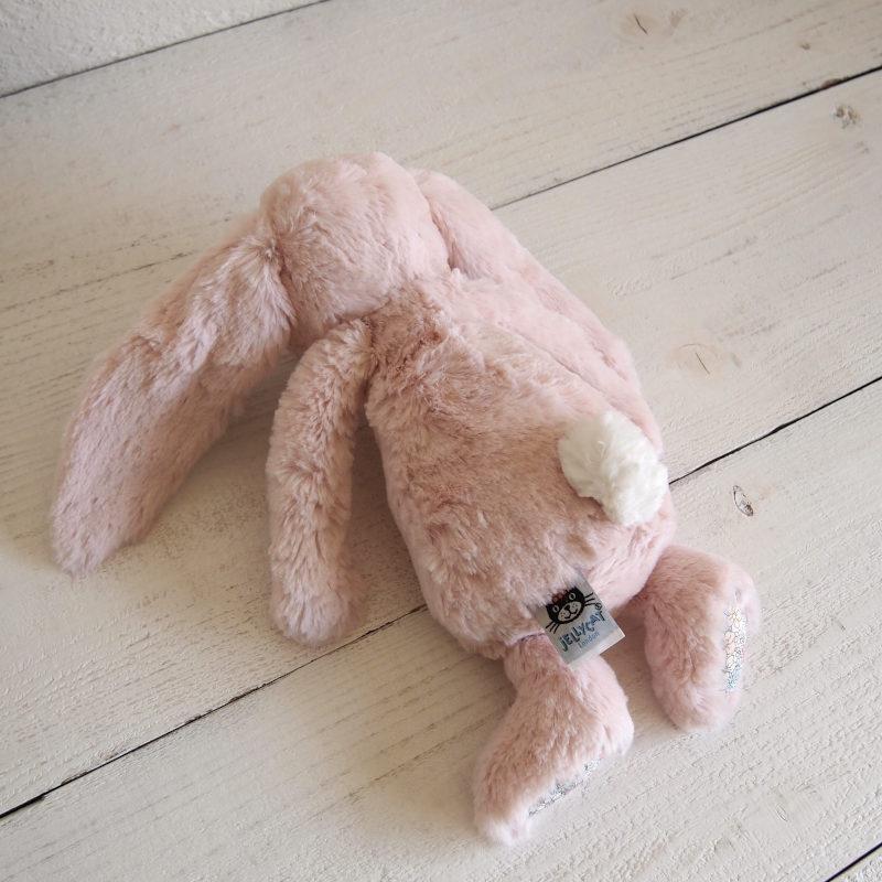 JELLYCAT Medium Blossom Blush Bunny(BL3BLU) うさぎ ぬいぐるみ ブラッシュ