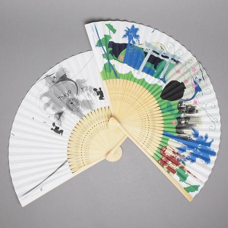 Tokyo Souvenir Series SENSU 新東京土産 スーベニール・シリーズ 「扇子」