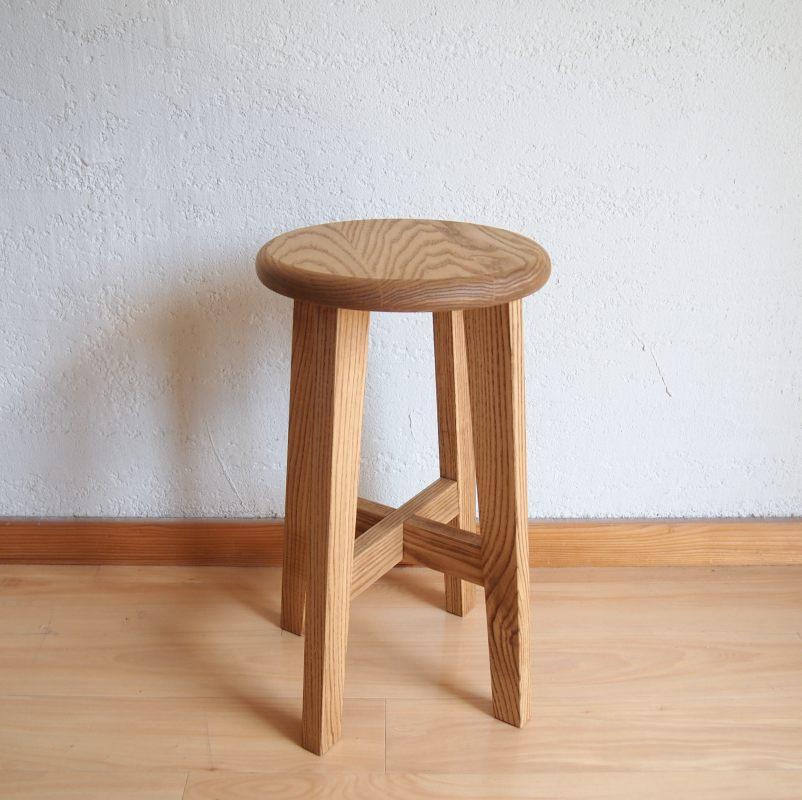 松野屋 丸椅子 小