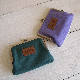 PEANUTS スヌーピー 畳み刺繍ポーチ フラットがま口 NLC5