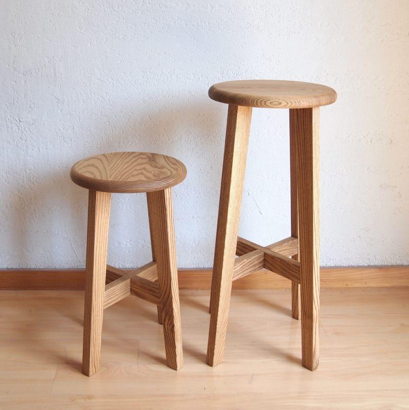 松野屋 丸椅子 大