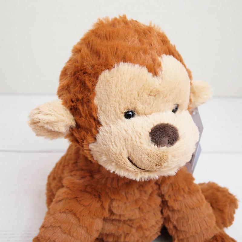 JELLYCAT I am Medium Fuddlewuddle Monkey(FW6MK) サル ぬいぐるみ