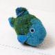 Fish Blue フェルト アニマル サカナ