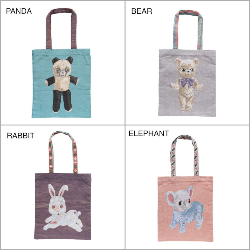 Nathalie Lete Tote bag ナタリー・レテ トートバッグ 【単品のみゆうパケット1通で発送可】