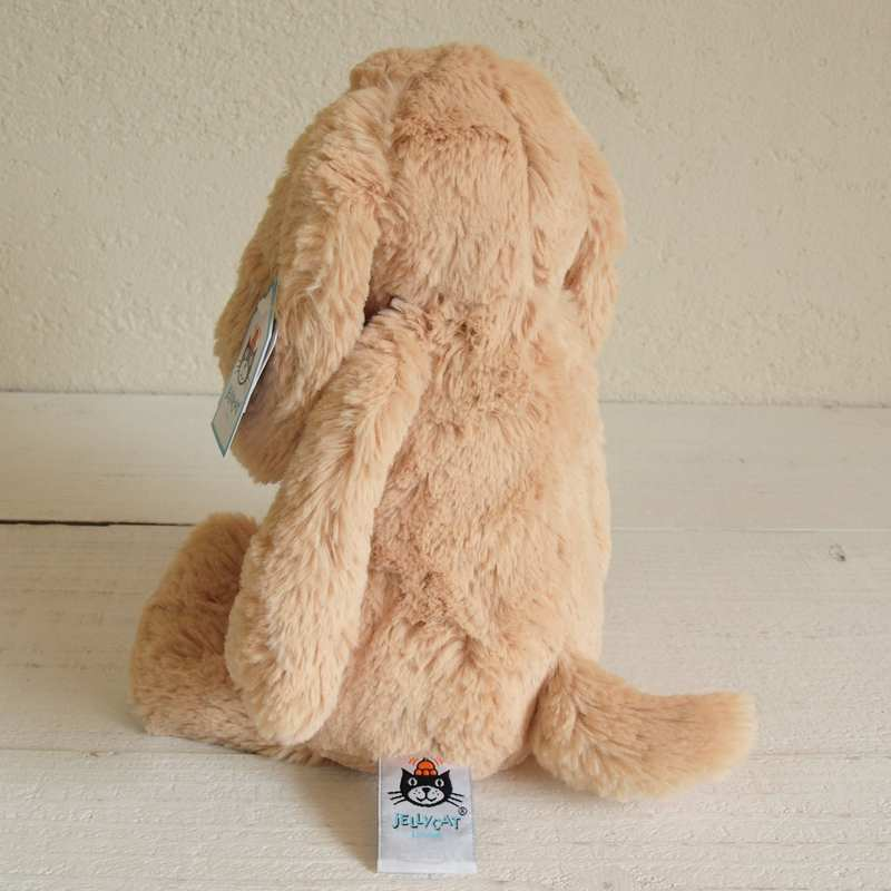 JELLYCAT Medium Bashful Toffee Puppy(BAS3TPUS) イヌぬいぐるみ