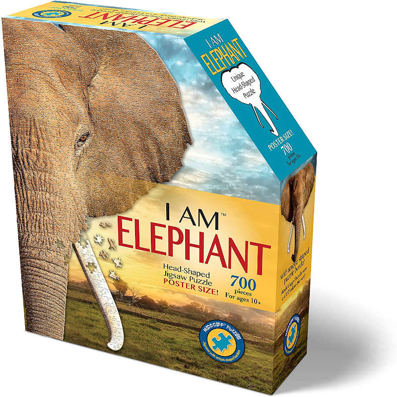 Madd Capp Puzzle ELEPHANT 700pieces ゾウパズル
