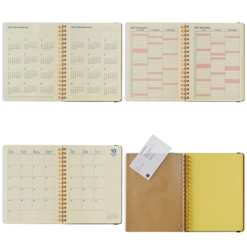 【2022年手帳・スケジュール帳 2021年10月始まり】 DELFONICS ロルバーンダイアリー タイガーL【ゆうパケット2冊まで1通で発送可】