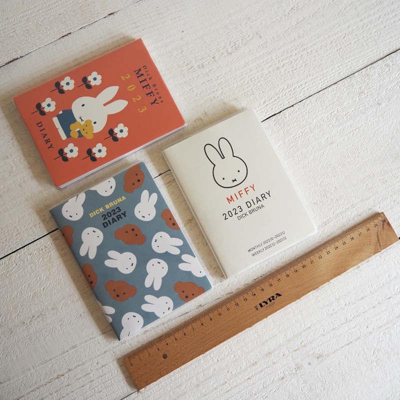 【2022年手帳・スケジュール帳 2021年10月始まり】miffy ミッフィーマンスリー&ウィークリーダイアリー A6
