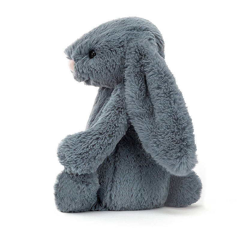 JELLYCAT Bashful Dusky Blue Bunny Medium(BAS3DUSKB) うさぎ ぬいぐるみ ダスキーブルー