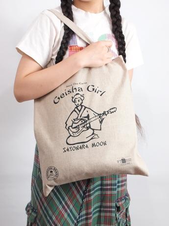 Tokyo Souvenir Series  Eco Bag Geisya Girl 新東京土産 スーベニール・シリーズ エコバッグ