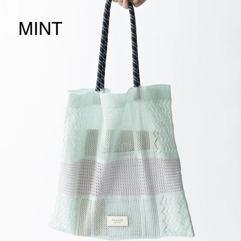 【TRICOTE】 トリコテ MESH KNIT BAG