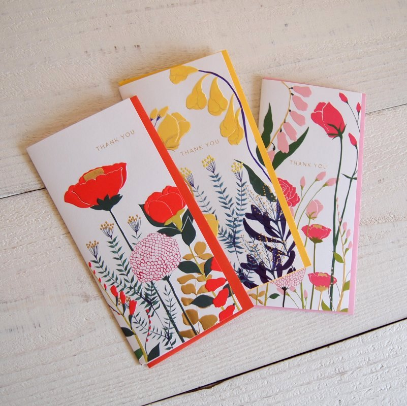 グリーティングカード FLOWERS THANK YOUカード
