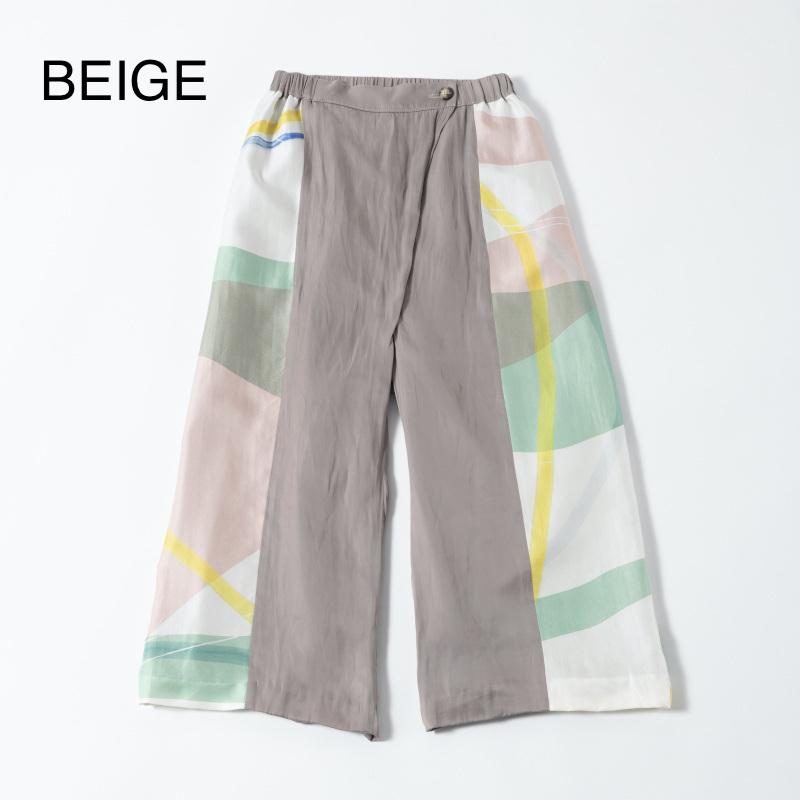 【TRICOTE】 トリコテ HAND STRATUM PANTS ワイドパンツ