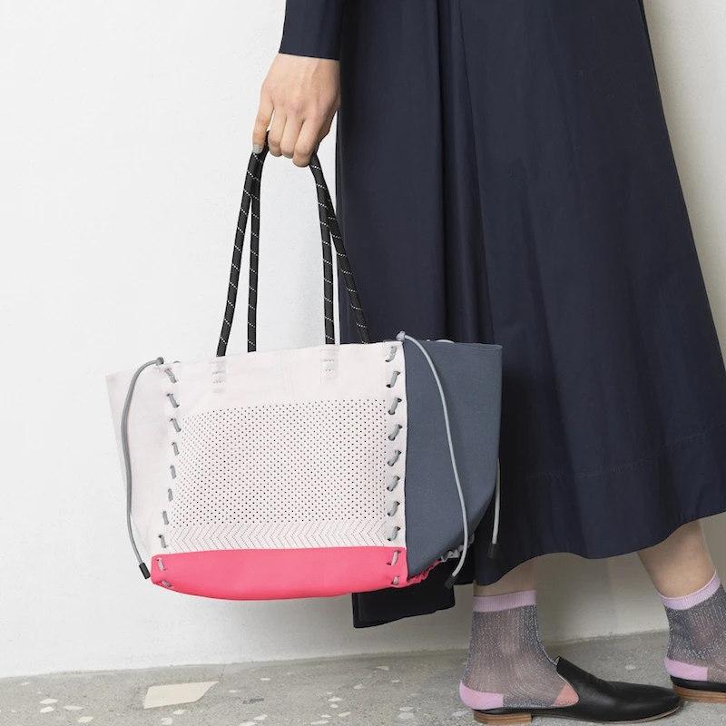 【TRICOTE】 トリコテ CORD STITCH TOTE BAG