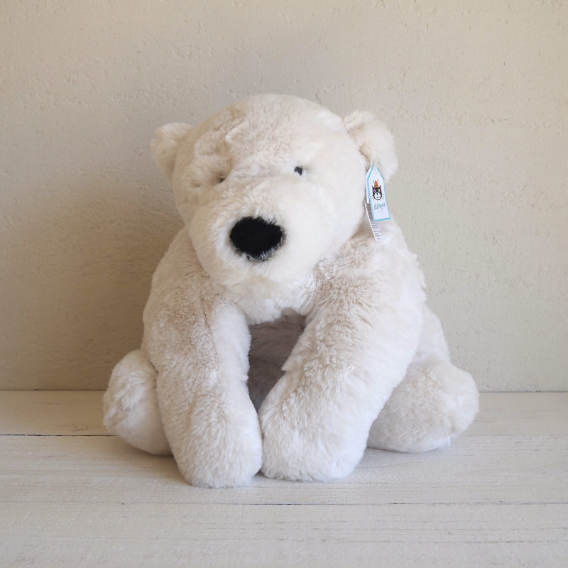 JELLYCAT Lying Perry Polar Bear(PE1LPB) シロクマ ぬいぐるみ