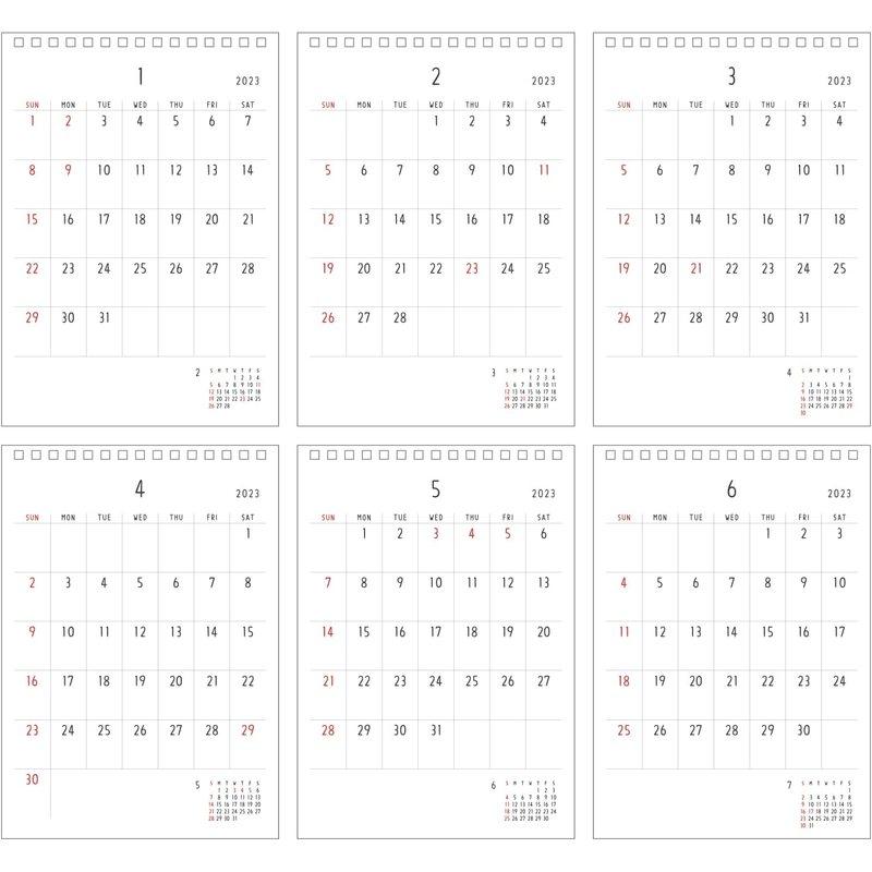 【2021年】 Noritake 卓上カレンダー