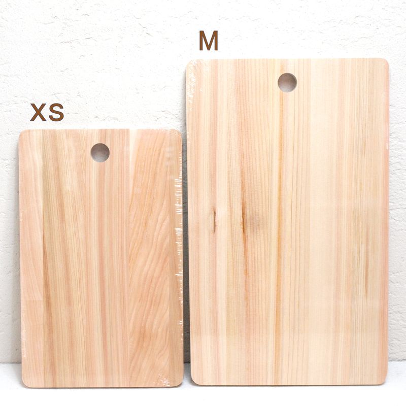 松野屋 ヒノキまな板 XS