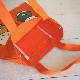 miffy ミッフィー カラートート キャロット 【同商品単品購入のみゆうパケット1通で発送可】