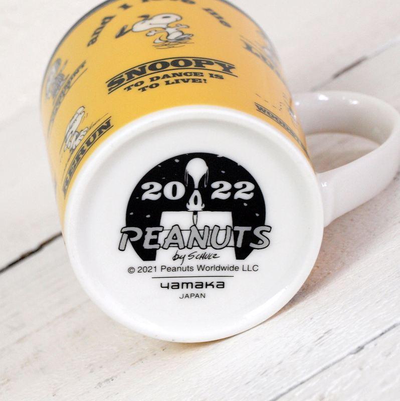 Vintage PEANUTS スヌーピー イヤーズマグ 【2022】