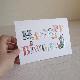 グリーティングカード MOOMIN ムーミン 立体バースデーカード / 飾り文字