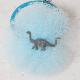 Frou-Frou de Sucre フルフルドシュクル<br>チュールとフィギアのヘアゴム / ブラキオサウルス A